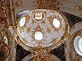 The Great Church of the Winter Palace in Saint Petersburg, dome interior.JPG