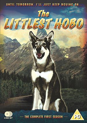 The Littlest Hobo - The First Season DVD cover