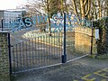 The Millennium gates on Eastry C of E primary school - geograph.org.uk - 1115064.jpg
