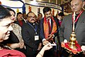 The Minister of State (Independent Charge) for Tourism, Dr. K. Chiranjeevi inaugurating the Indian Pavilion, at ITB Berlin at Berlin, Germany on March 06, 2013.jpg