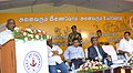 "The Minister of State for Road Transport & Highways and Shipping, Shri P. Radhakrishnan addressing at the inauguration of the ""Sabka Saath Sabka Vikas"" Sammelan, organised by the Chennai Port Trust, at Tondiarpet, in Chennai.jpg"
