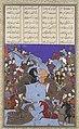The Night Battle of Kai Khusrau and Afrasiyab,Painting attributed to Bashdan Qara (active ca. 1525–35)-Painting ; (H. 30.8 x W. 18.4 cm).jpg