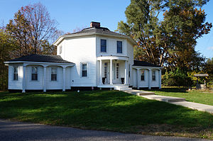 Westland, Michigan - The Octagon House, part of the Westland Historical Park