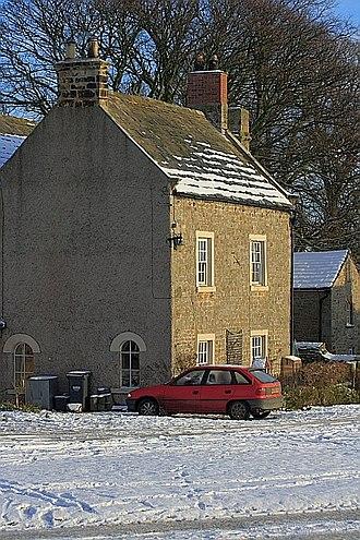 William Lax - The former grammar school at Kirby Hill.
