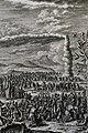 The Phillip Medhurst Picture Torah 393. Manna in the wilderness. Exodus cap 16 vv 4-35. Pinz.jpg