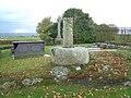 The Preaching Cross in Llangaffo church yard. - geograph.org.uk - 384634.jpg