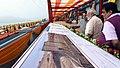 The Prime Minister, Shri Narendra Modi at the Sardar Sarovar Dam, in Gujarat.jpg