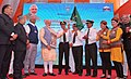 The Prime Minister, Shri Narendra Modi launching the UDAN – Regional Connectivity Scheme for Civil Aviation - by flagging-off the first UDAN flight from Shimla,.jpg
