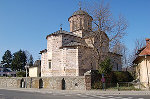 Basarab I of Wallachia - The Princely Church of St. Nicholas at Curtea de Argeș