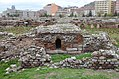 The Roman Baths of Ancyra, constructed in the third century during the reign of Roman Emperor Caracalla by a wealthy citizen of Ancyra called Tiberius Julius Justus Junianus, Ankara, Turkey (26304148225).jpg
