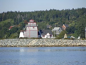 LaHave, Nova Scotia - Fort Point Museum, LaHave, Nova Scotia