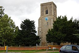 The Tower, St Mary's Church, Stow-cum-Quy - geograph.org.uk - 920469.jpg
