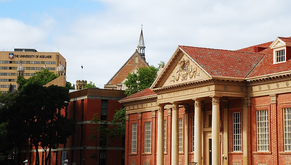 The University of Adelaide and Barr Smith Library
