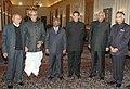 The Vice President, Shri Bhairon Singh Shekhawat hosted a dinner in honour of new Chief Justice, Shri K G Balakrishnan, in New Delhi on January 15, 2007.jpg