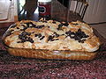 The bread pudding I made for my father on his birthday.jpg