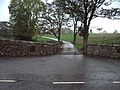 The entrance and road to Pinners Cottage - geograph.org.uk - 268369.jpg