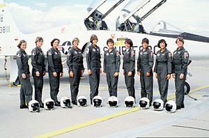 82d Training Wing - First ten women officers