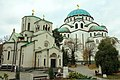 The temple and the little church of Saint Sava.jpg