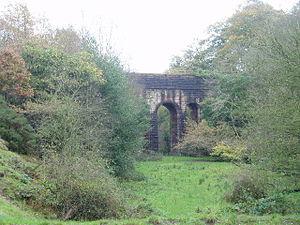 Thirlmere Aqueduct - The aqueduct near Higher Wheelton