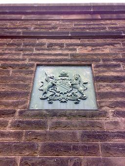Thirlmere Aqueduct plaque Barton