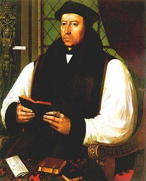Thomas Cranmer (1489–1556), archbishop of Cant...