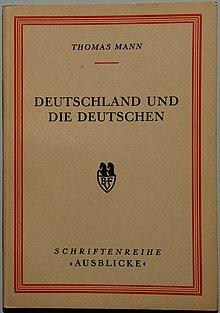 Deutschland Und Die Deutschen Wikipedia