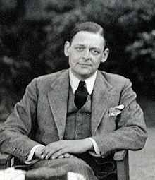 """Portrait of T.S. Eliot in a parlour"""