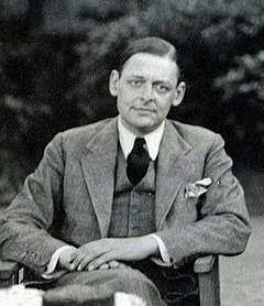 T. S. Eliot Thomas Stearns Eliot by Lady Ottoline Morrell (1934).jpg