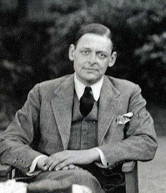 T. S. Eliot - Eliot in 1934