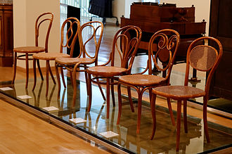 Gebrüder Thonet - Image: Thonet chairs Wien museum Karlplatz