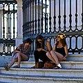 Three Girls with Three different activities (19846850468).jpg