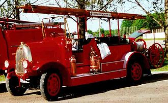 Tidaholms Bruk - Tidaholm Fire Engine 1924