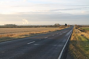 A1500 road - Till Bridge Lane