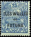Timbre Wallis et Futuna - 25 centimes.jpg