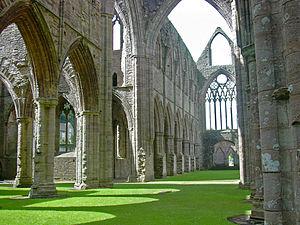 Tintern - Tintern Abbey, interior
