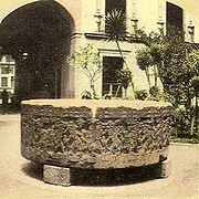 Stein des aztekischen Herrschers Tizoc