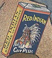 Tobacco package from the American Tobacco Co. detail,.. Red Indian cut plug .. LCCN2014646800 (cropped).jpg