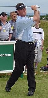 Todd Hamilton American professional golfer (born 1965)