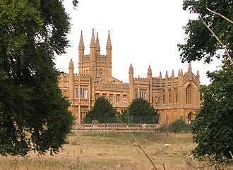 Baron Sudeley - Toddington Manor, the former seat of the Barons Sudeley.