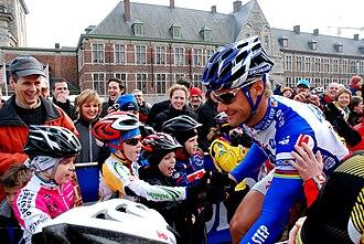 Omloop Het Nieuwsblad - Image: Tom Boonen 28 02 2009 11 29 17