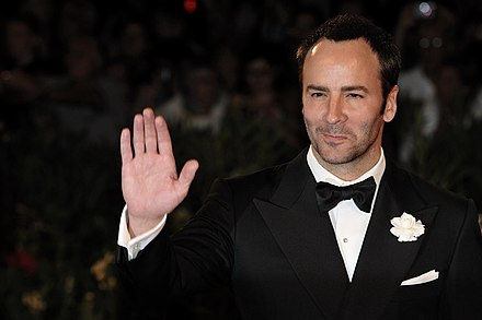 Fashion designer and filmmaker Tom Ford was raised in Santa Fe after moving from Texas. Tom Ford 2009 - 1.jpg