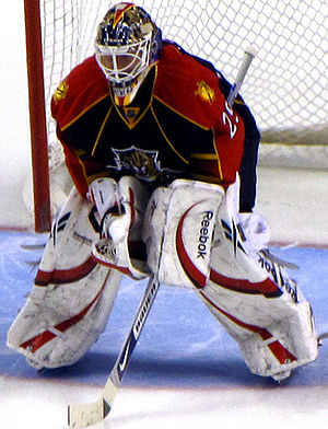 Tomáš Vokoun - Vokoun with the Panthers in 2009.