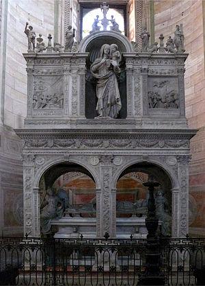 Gian Galeazzo Visconti - Image: Tomba di Gian Galeazzo Visconti