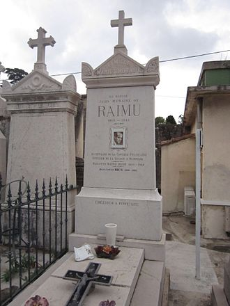 Raimu - Grave in Toulon