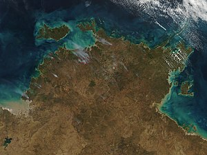 Top End - A NASA satellite image of the Top End