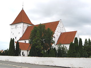 Toreby Church church building in Guldborgsund Municipality, Denmark