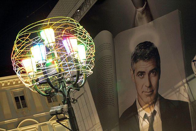 Clooney at Torino