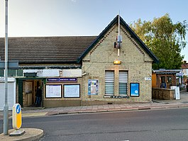 Totteridge & Whetstone station bldg 2020.jpg