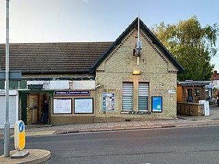 Totteridge & Whetstone tube station London Underground station