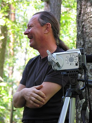 Vladimir Kozlov (director) - Image: Tournage Morozov 1